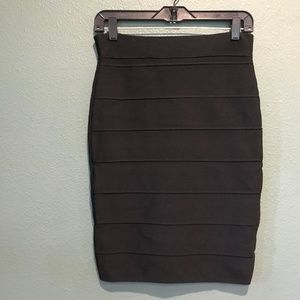 Romeo & Juliet Couture Black Bandage Skirt M